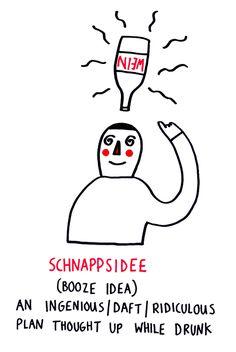 Mit diesen Illustrationen macht Deutsch-Vokabeln lernen endlich Spaß.