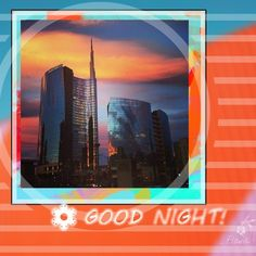 Buonanotte - Good night