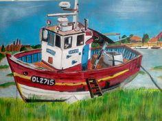 Fishing boat Kent, England