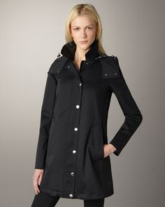 Burberry Brit Bowpark Rain Jacket - Neiman Marcus...I have this coat and I love it . It is a classic