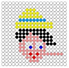 Kralenplank Pinokkio met lange neus Pinocchio, Paper Puppets, Diy Perler Beads, Cartoon Movies, Fairy Tales, Wonderland, Coloring, Crafts, School