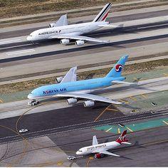 Side by Side: Air France, Korean Air, Virgin America