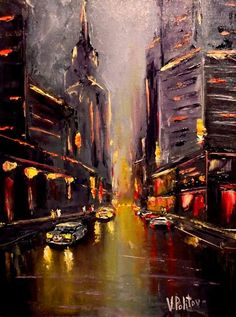 Buy Sounds of the city, Oil painting by Valeriy Politov on Artfinder. Discover thousands of other original paintings, prints, sculptures and photography from independent artists. #OilPaintingCity