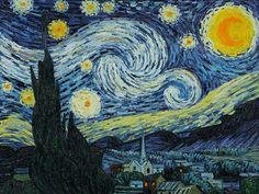 Handpainted Van Gogh oil reproduction- Starry Night - overstockArt.com