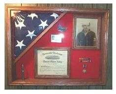 Military Flag Display Cases, Burial Flag Case, Flag Shadow Boxes ...
