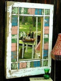 old window crafts | Old Window Eye Candy