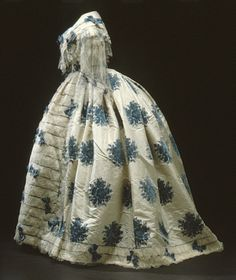 Evening dress of Sophia of Sweden ca. 1850 | Flickr - Photo Sharing!