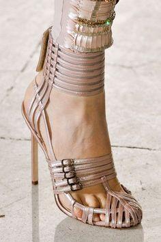 Antonio Berardi SS 2012 shoe detail