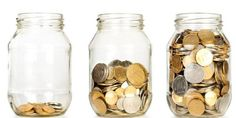 5 Clever Ways to Trick Yourself Into Saving More Money - DailyFinance. Saving for my dream home. Ways To Save Money, Money Saving Tips, How To Make Money, Saving Ideas, Dave Ramsey, Savings Jar, Money Jars, Money Challenge, Budgeting Money