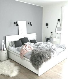 Teen Bedroom Color Ideas - Accent Wall - Teenage Room Makeover on a Budget - cheap and easy DIY teen bedroom makeover ideas to redo a teenage girl& bedroom. Teen Bedroom Colors, Teenage Girl Bedroom Designs, Teenage Girl Bedrooms, Teenage Room, Bedroom Decor, Bedroom Ideas, Girls Bedroom, Lace Bedroom, Ikea Bedroom
