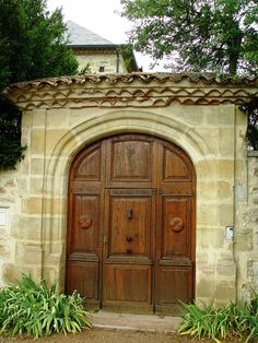 Capdenac Haut, Lot, France - I love a doorway