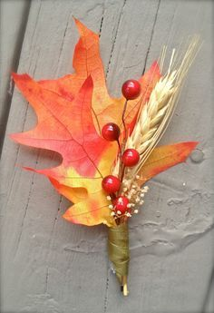 fall corsages and boutonnieres - Google Search
