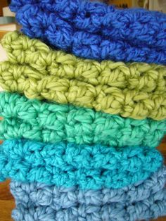 Chunky Crochet Boot Cuffs, Faux Leg Warmers, Boot Socks - Turquoise Blue