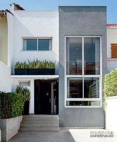 Ideas for house facade modern exterior colors Facade Design, Exterior Design, Architecture Design, Exterior Colors, House Color Schemes, House Colors, Small House Design, Modern House Design, Townhouse Designs