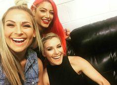 Natalya, Eva Marie, Renee Young