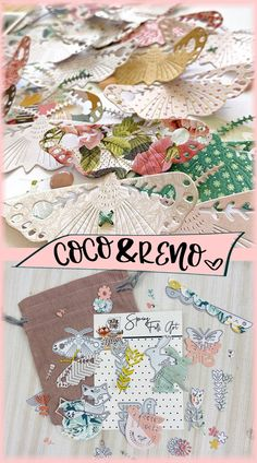 Spring Folk Art Dies - March Kit - Coco and Reno Crate Paper, Folk Art, Craft Projects, Crafting, Paper Crafts, Kit, Spring, Popular Art, Craft