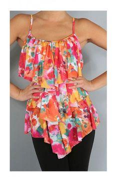 86836f621f682d Dazzle With Color Top ♥ Affordable Dresses, Color Pop, Trendy Fashion, Cute  Dresses