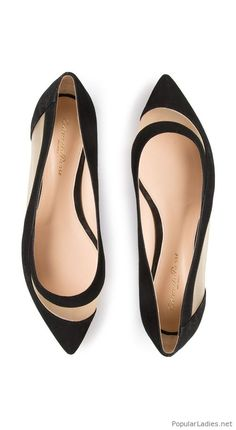 5421b0da83e My kind of black flats. Cute FlatsCute ShoesMe Too ShoesBallerina  FlatsBallet ...