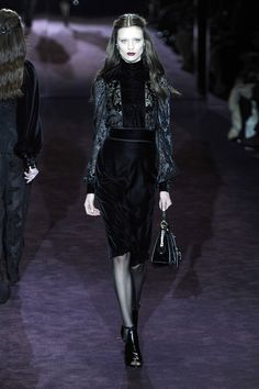 Gucci - Goth on the runway