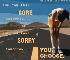 I'll take the soreness, at least I get something positive out of it. Running Inspiration, Body Inspiration, Fitness Inspiration, Workout Inspiration, Fitness Tips, Health Fitness, Fitness Facts, Fitness Fun, Fitness Quotes