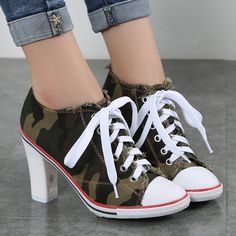 short Plus velvet high-heeled leopard print women shoes 2016 new arrival lacing canvas casual pointed toe lady denim ankle boots