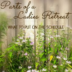 Ladies Retreat Planning: Event Books