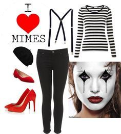 mime costume girls diy - Google Search