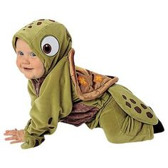Our Baby Squirt Costume is a great Baby Turtle Costume. For other Finding Nemo characters consider any of our other Nemo Costumes. - Extra-soft plush jacket with full front zipper and attached hood -