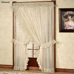 Jessica Ninon Ruffled Wide Priscilla Curtains