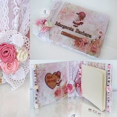 Sarah Kay Ballerina. Beautiful handmade  wishbook.