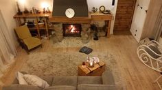 After renovation. Livingroom.