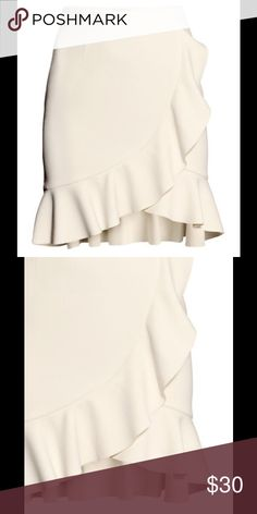 Spotted while shopping on Poshmark: H&M Ruffle Skirt! #poshmark #fashion #shopping #style #H&M #Dresses & Skirts