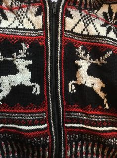 Christmas sweater design in wool and silk with Beas decoration and embroidery