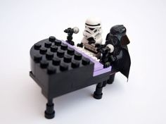 Ebony and Ivory Created by Deacon Jonathan Miller - Star Wars