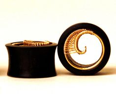 Normally I don't like plugs all that much.  But this is so sexy & awesome with the wire wrap!