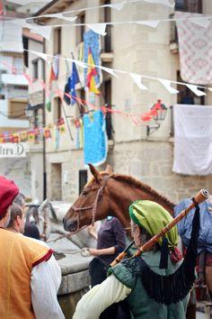 Medieval Games and Fiesta in Eljas Spain