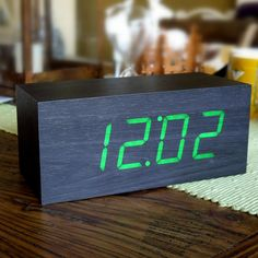 Wooden Digital Clock $48.00