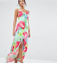 Every Cloud Rose Print Strappy Maxi Dress - Multi Casual Dresses For Women, Dresses For Sale, Short Dresses, Summer Dresses, Clothes For Women, Women's Dresses, Strappy Maxi Dress, Floral Maxi Dress, Latest Fashion Clothes