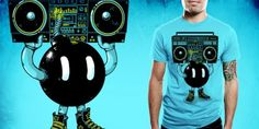 Crazy awesome t-shirt designs.