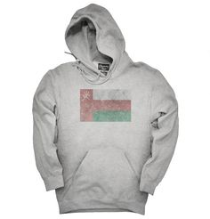 """You can order this """"Retro Vintage Papua Oman Flag"""" t-shirt on several different sizes, colors, and styles of shirts including short sleeve shirts, hoodies, and tank tops.Each shirt is digitally printed when ordered, and shipped from Northern California."""