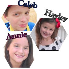 Annie the gymnast check out her acroanna channel, Hayley also gymnast doesn't have a channel, and Caleb does baseball so check out calebs channel