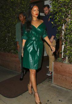 May 9th - Rihanna leaving Giorgio Baldi in Santa Monica, CA