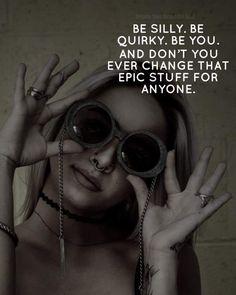 Enjoy The Silence, Badass Women, Beautiful Soul, Inspirational Quotes, Wisdom, Sayings, Words, Mental Health, Advice