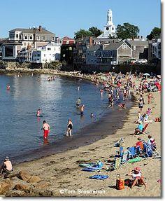 Beach at Rockport, Massachusetts