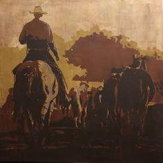 "Saatchi Art Artist Maura Allen; Painting, ""Yonder"" #art"