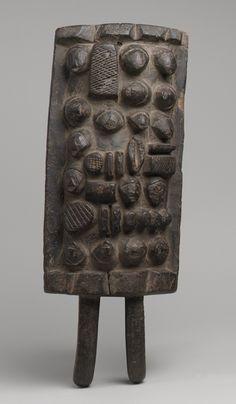 Memory Board (Lukasa) [Democratic Republic of Congo; Luba] (1977.467.3) | Heilbrunn Timeline of Art History | The Metropolitan Museum of Art