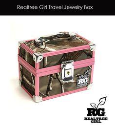 Realtree Girl Travel Jewelry Box - Now Available! #realtreegirl