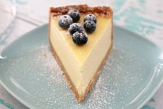 Classic New York Baked Cheesecake