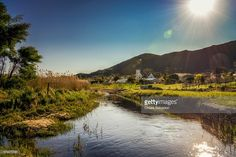 The village of Barrydale | Western Cape, South Africa | #stockphotos #gettyimages #print #travel