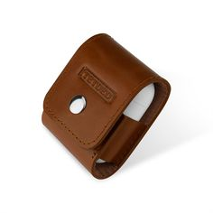 TETDED Premium Leather Case for Apple AirPods -- Pouch 04 (Vintage: Brown) #TETDED